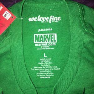 cdc88a040be Marvel Shirts - NWT We Love Fine Marvel Hulk T-shirt Large